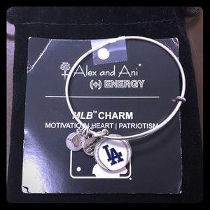 Brand new Alex & Ani Dodgers bracelet